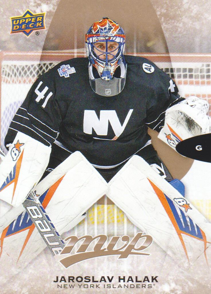 info for fd407 117c8 Details about 2016-17 Upper Deck MVP Hockey #25 Jaroslav Halak New York  Islanders