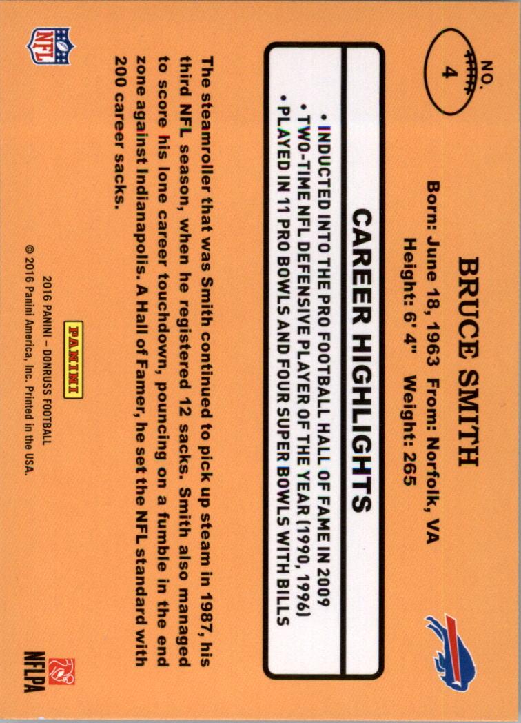 5728a42419 2016 Donruss 1987 Classics Football Card Pick