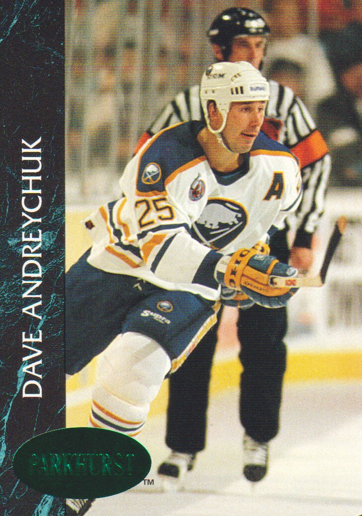 1992-93 Parkhurst Emerald Ice #10 Dave Andreychuk