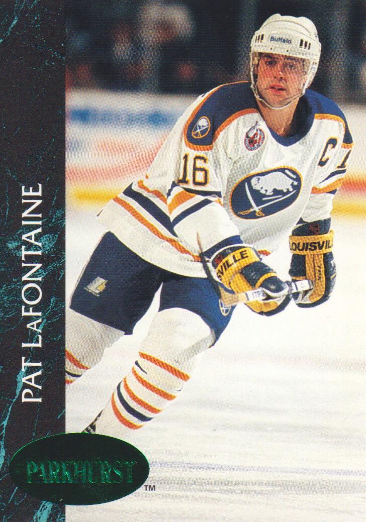 1992-93 Parkhurst Emerald Ice #12 Pat LaFontaine