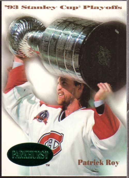 1992-93 Parkhurst Emerald Ice #510 Patrick Roy SCP