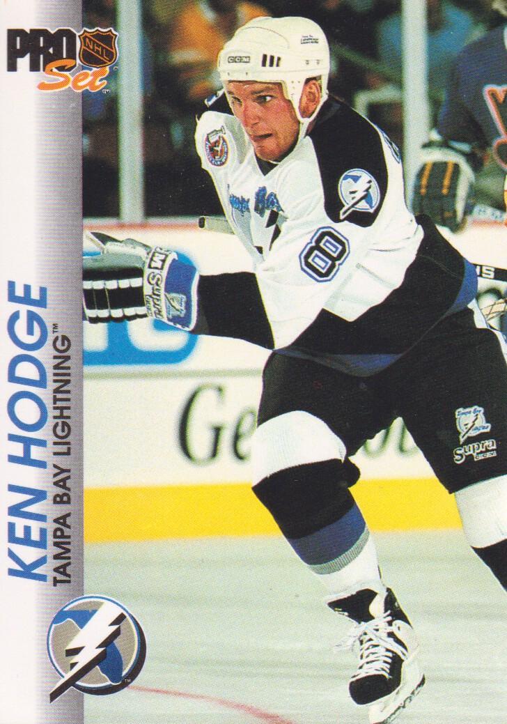 1992-93 Pro Set #182 Ken Hodge Jr.