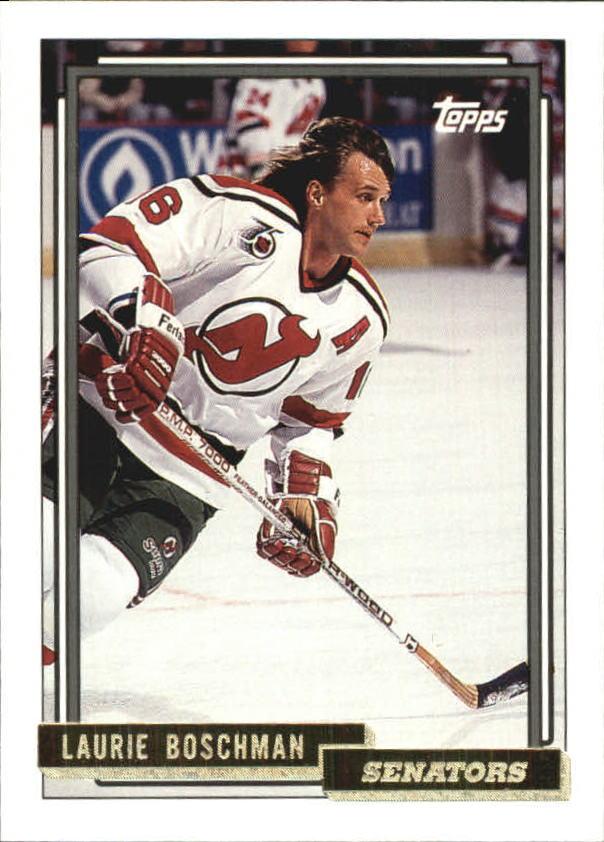 1992-93 Topps Gold #246 Laurie Boschman
