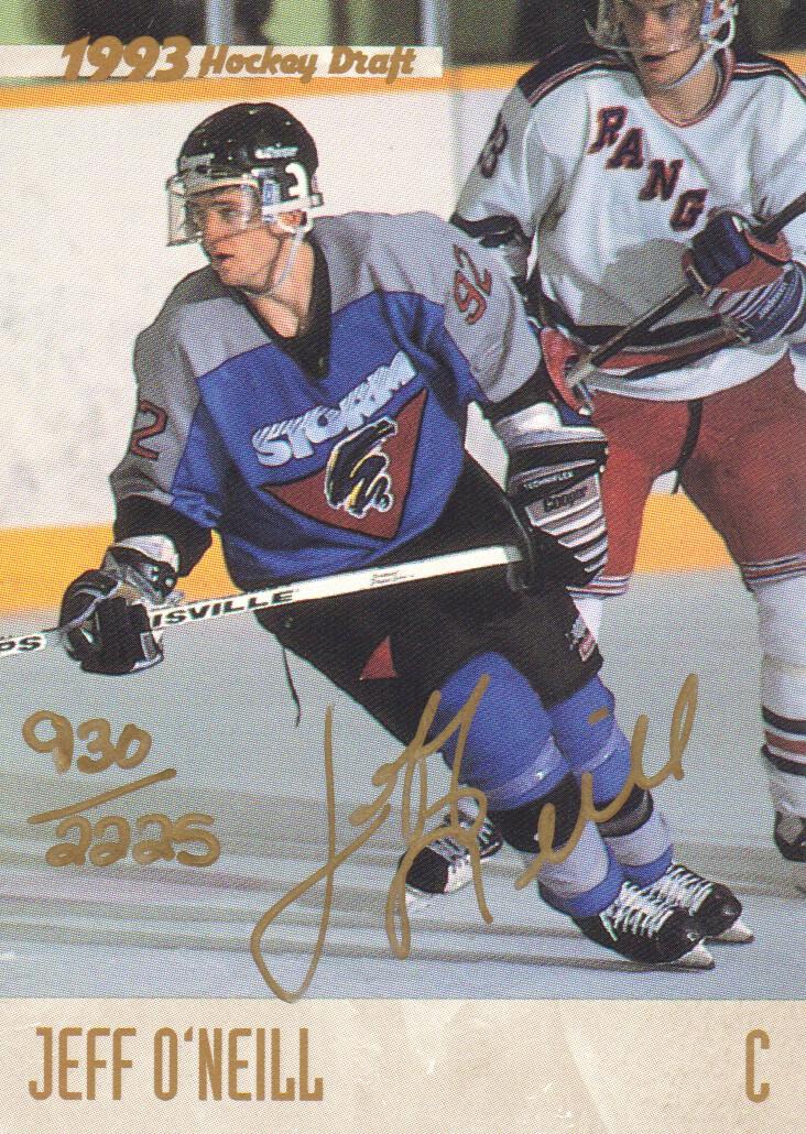 1993 Classic Autographs #AU8 J.O'Neill AU/2225