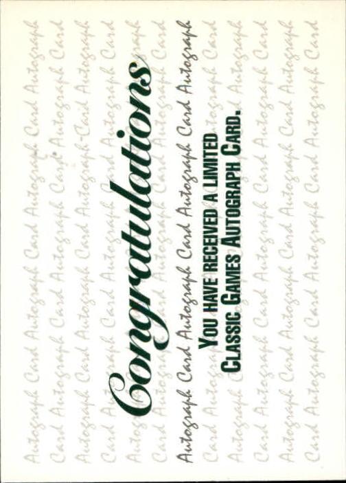 1993 Classic Pro Prospects #AU2 M.Rheaume AU/6500 back image