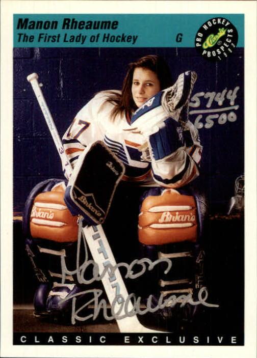 1993 Classic Pro Prospects #AU2 M.Rheaume AU/6500