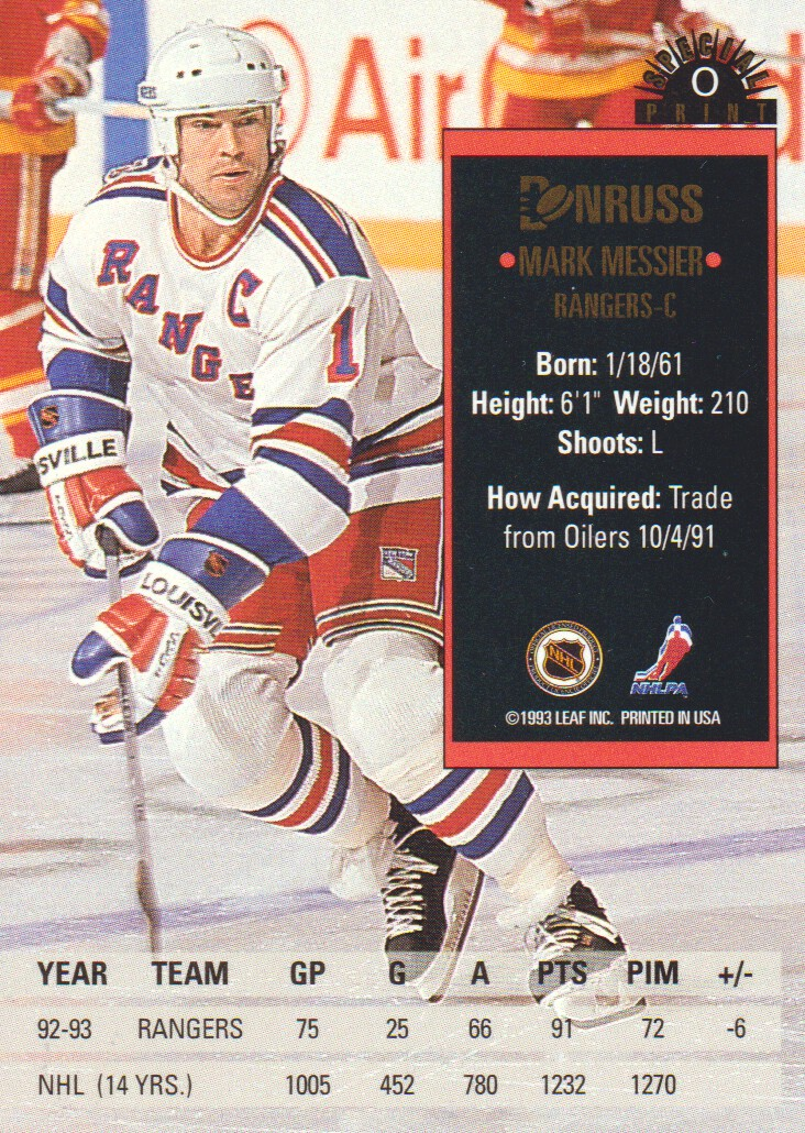 1993-94-Donruss-Special-Print-Hockey-Cards-Pick-From-List thumbnail 7
