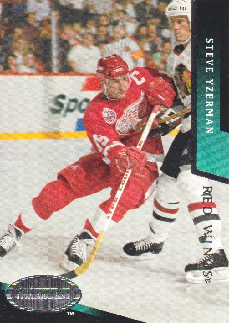 1993-94 Parkhurst #326 Steve Yzerman