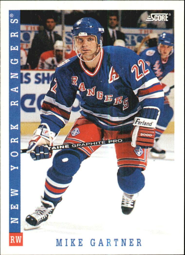 1993-94 Score #2 Mike Gartner
