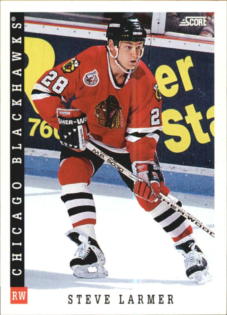 1993-94 Score #3 Steve Larmer