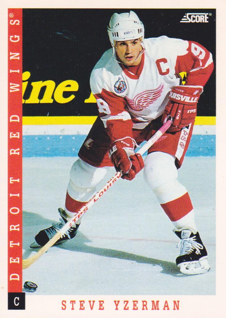 1993-94 Score #310 Steve Yzerman