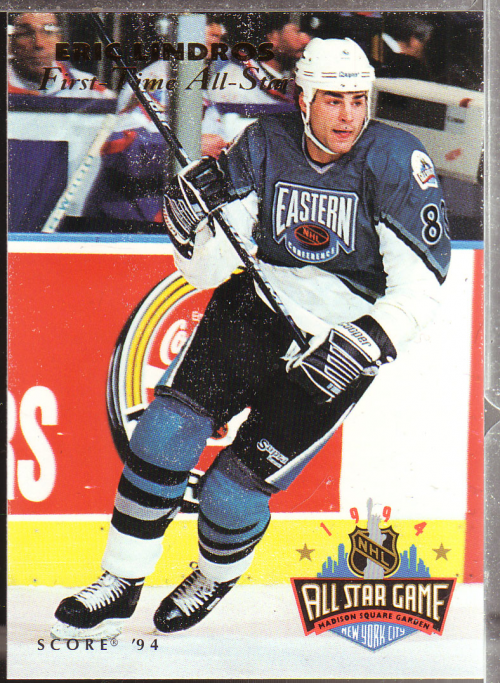 1993-94 Score #NNO Eric Lindros AS SP