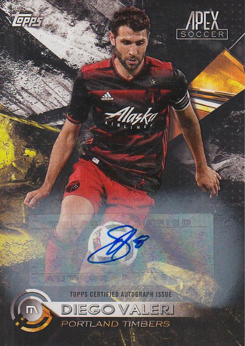 2016 Topps Apex MLS Autographs #95 Diego Valeri