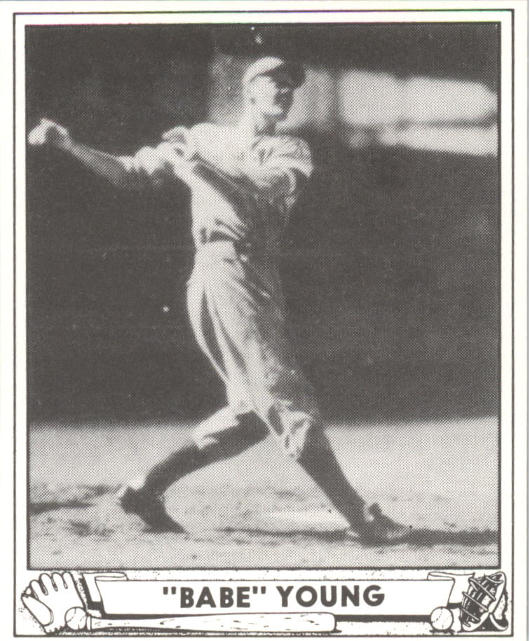 1940 Play Ball Reprints #212 Babe Young