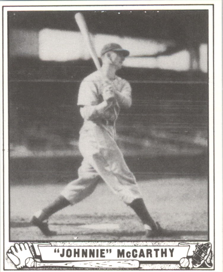 1940 Play Ball Reprints #215 Johnnie McCarthy