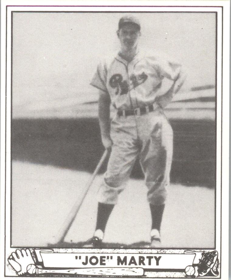 1940 Play Ball Reprints #216 Joe Marty