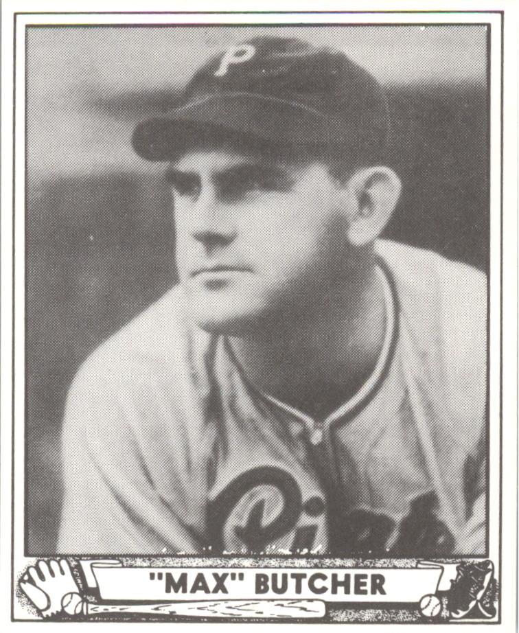 1940 Play Ball Reprints #222 Max Butcher