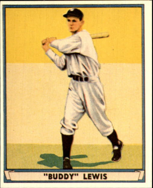 1941 Play Ball Reprints #47 Buddy Lewis