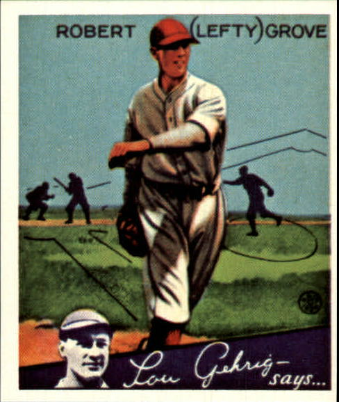 1934 Goudey '85 Reprints #19 Lefty Grove