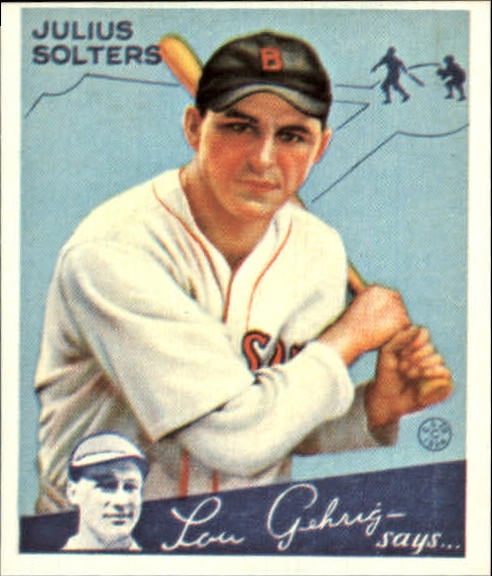 1934 Goudey '85 Reprints #30 Julius Solters