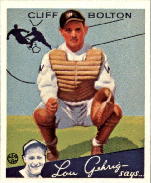1934 Goudey '85 Reprints #65 Cliff Bolton