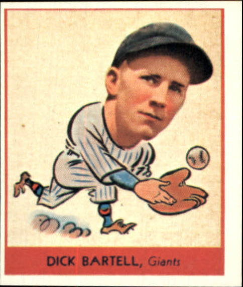 1938 Goudey Heads-Up '85 Reprints #248 Dick Bartell