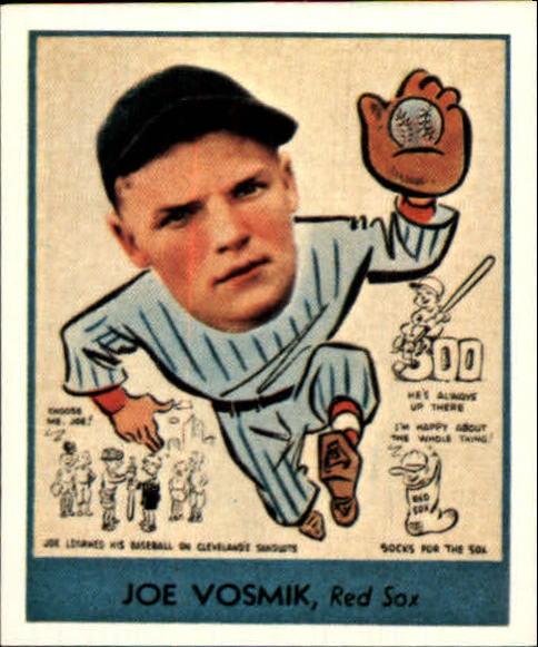 1938 Goudey Heads-Up '85 Reprints #271 Joe Vosmik
