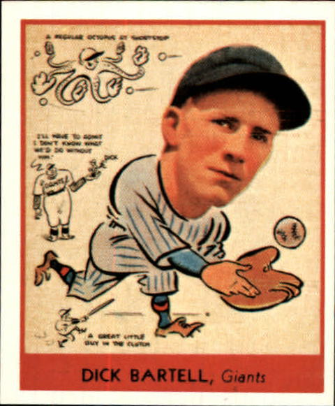 1938 Goudey Heads-Up '85 Reprints #272 Dick Bartell