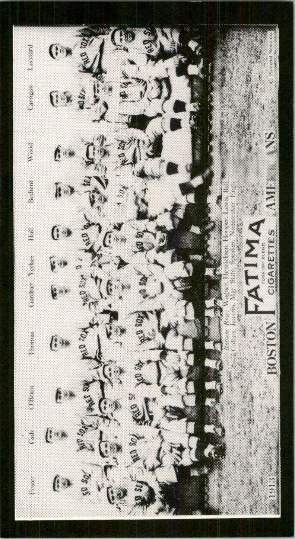 1913 Fatima Teams T200 '88 Reprints #1 Boston Americans