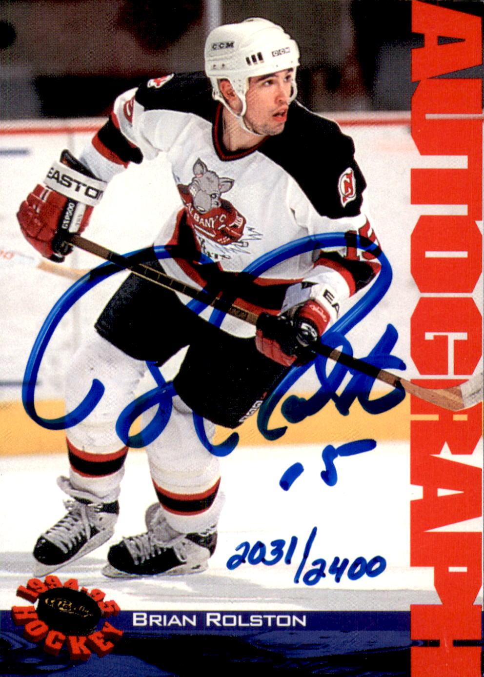 1994 Classic Autographs #76 Brian Rolston/2400