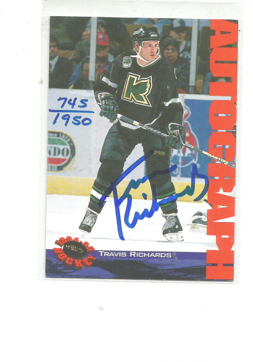 1994 Classic Autographs #NNO Travis Richards/1950