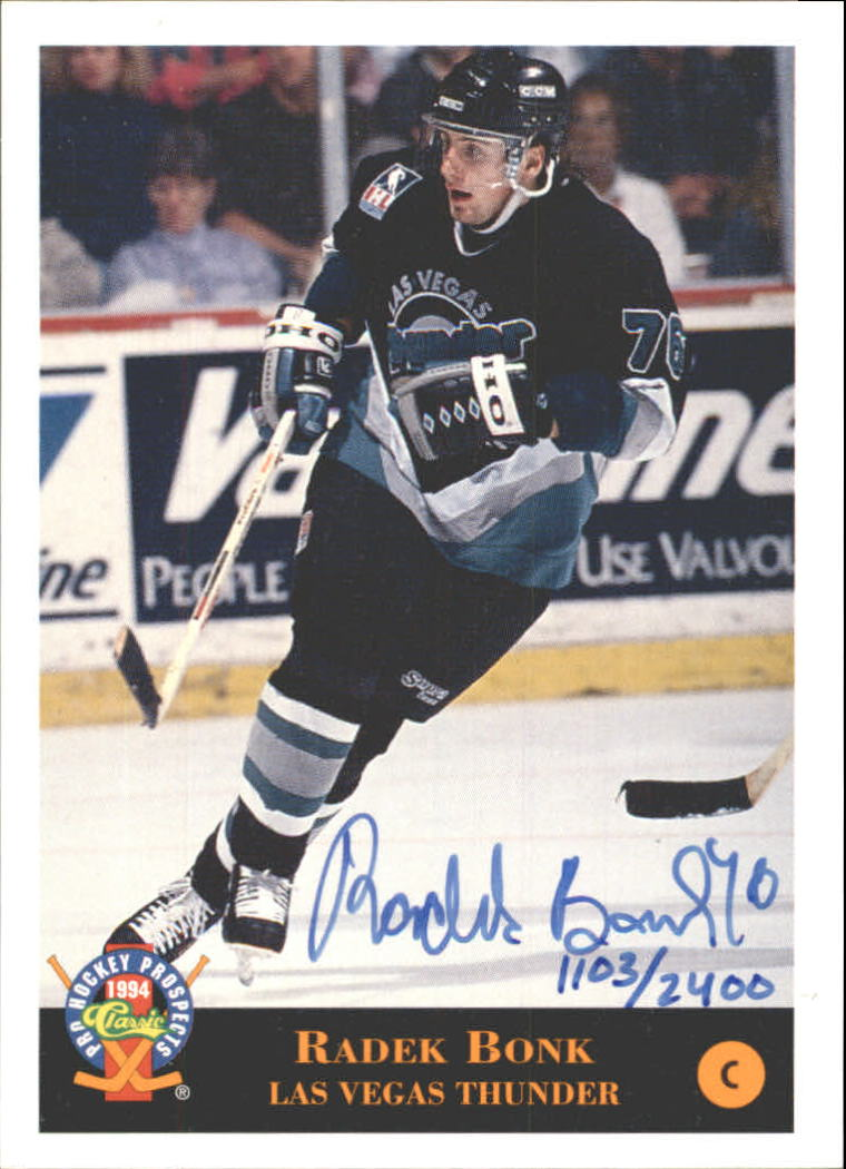 1994 Classic Pro Prospects Autographs #AU1 R.Bonk AU/2400