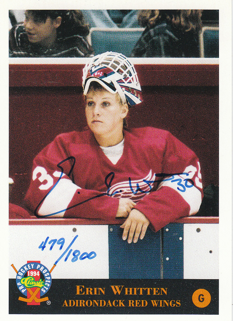 1994 Classic Pro Prospects Autographs #AU8 E.Whitten AU/1800