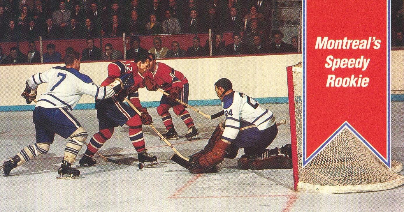 1994 Parkhurst Tall Boys #160 Montreal's Speedy/Rookie