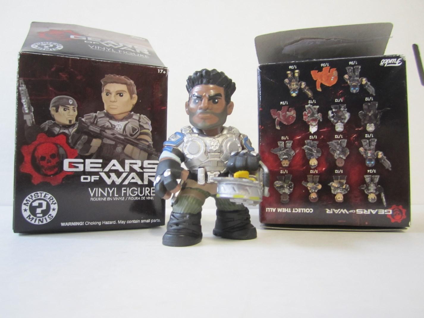 Del Walker Gears of War Funko Mystery Mini Vinyl Figure
