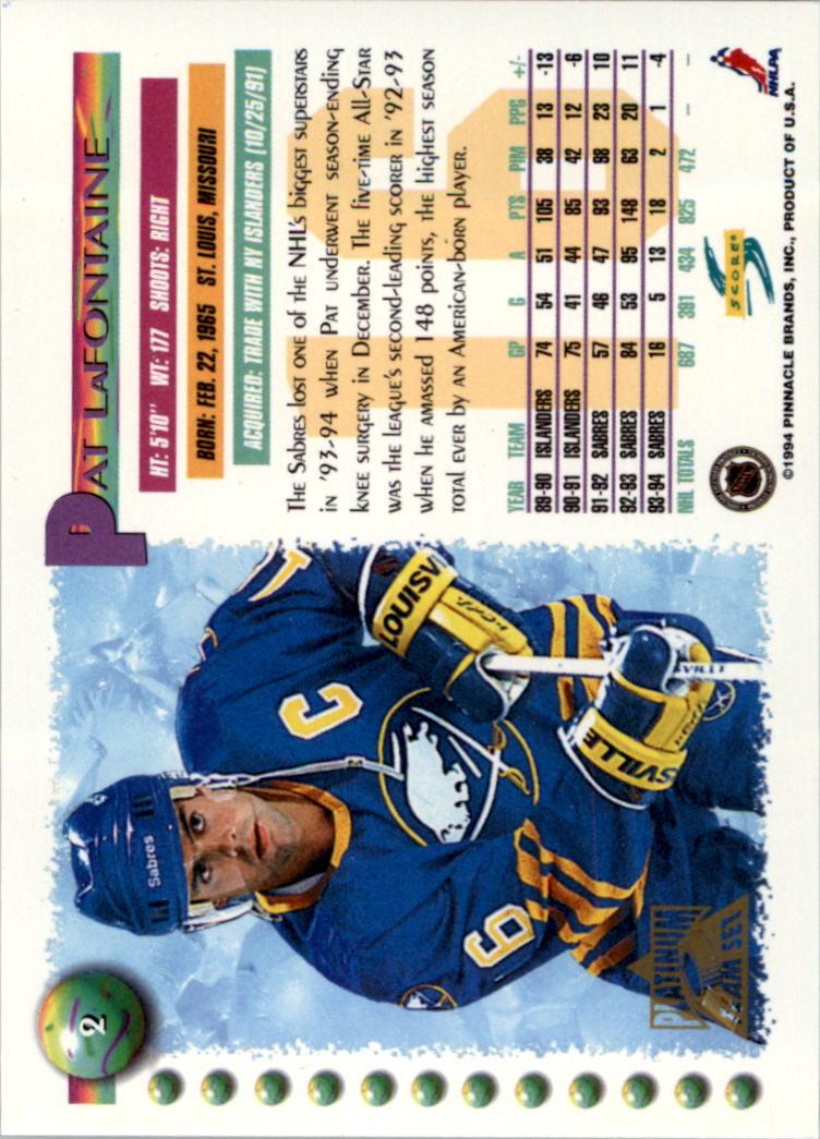 1994-95-Score-Platinum-Hockey-Card-Pick thumbnail 3
