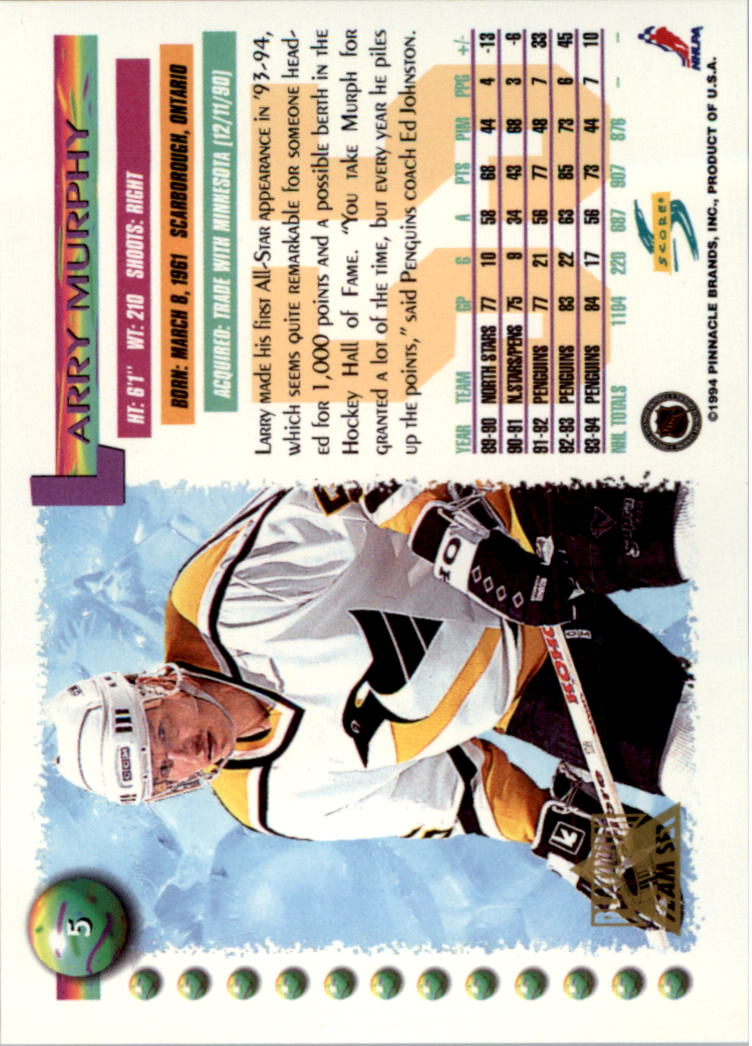 1994-95-Score-Platinum-Hockey-Card-Pick thumbnail 5