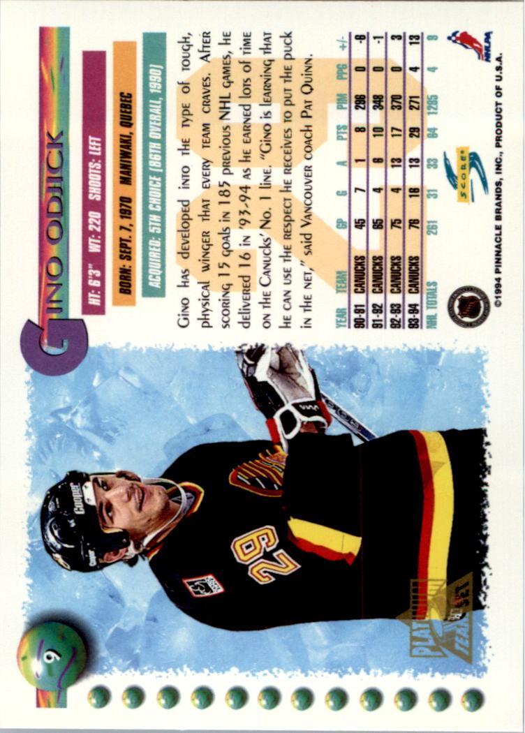 1994-95-Score-Platinum-Hockey-Card-Pick thumbnail 9