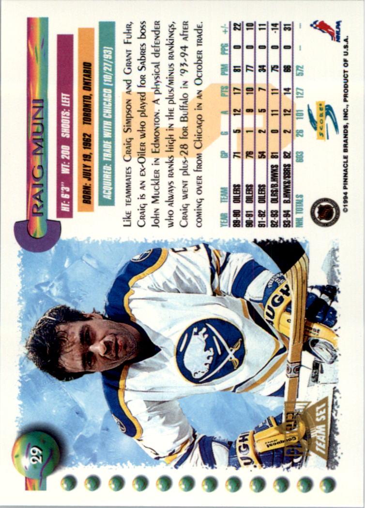 1994-95-Score-Platinum-Hockey-Card-Pick thumbnail 19