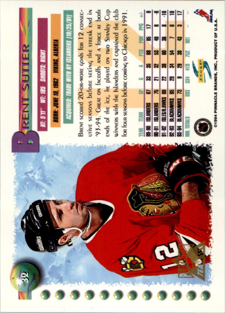 1994-95-Score-Platinum-Hockey-Card-Pick thumbnail 23