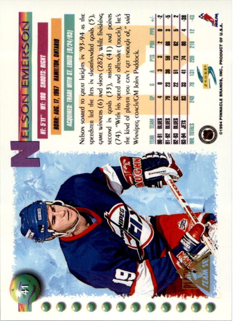 1994-95-Score-Platinum-Hockey-Card-Pick thumbnail 27