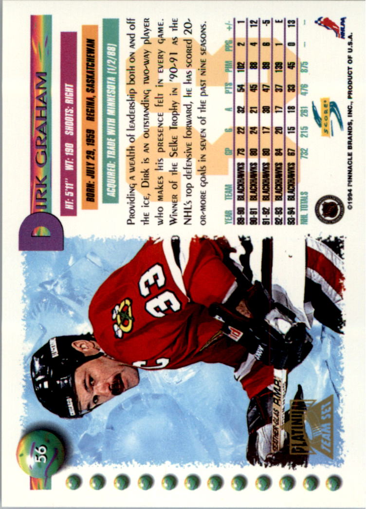 1994-95-Score-Platinum-Hockey-Card-Pick thumbnail 35