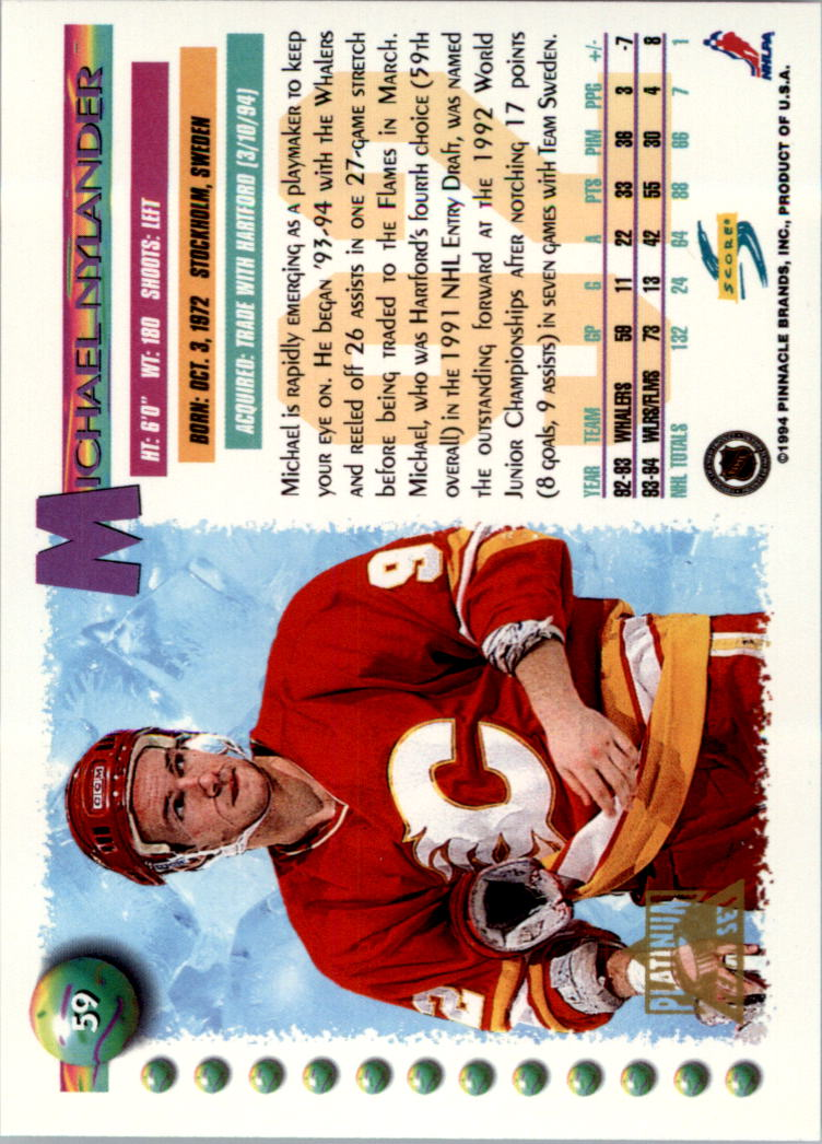 1994-95-Score-Platinum-Hockey-Card-Pick thumbnail 39