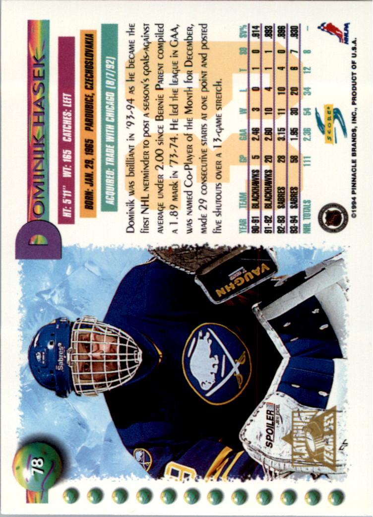 1994-95-Score-Platinum-Hockey-Card-Pick thumbnail 45