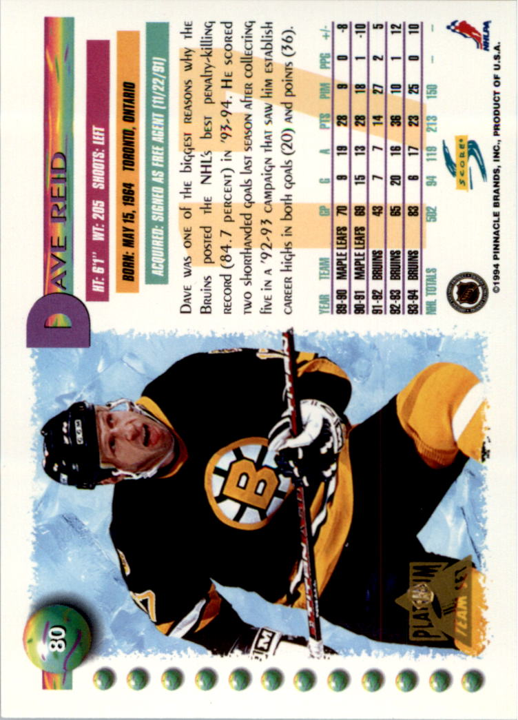 1994-95-Score-Platinum-Hockey-Card-Pick thumbnail 49
