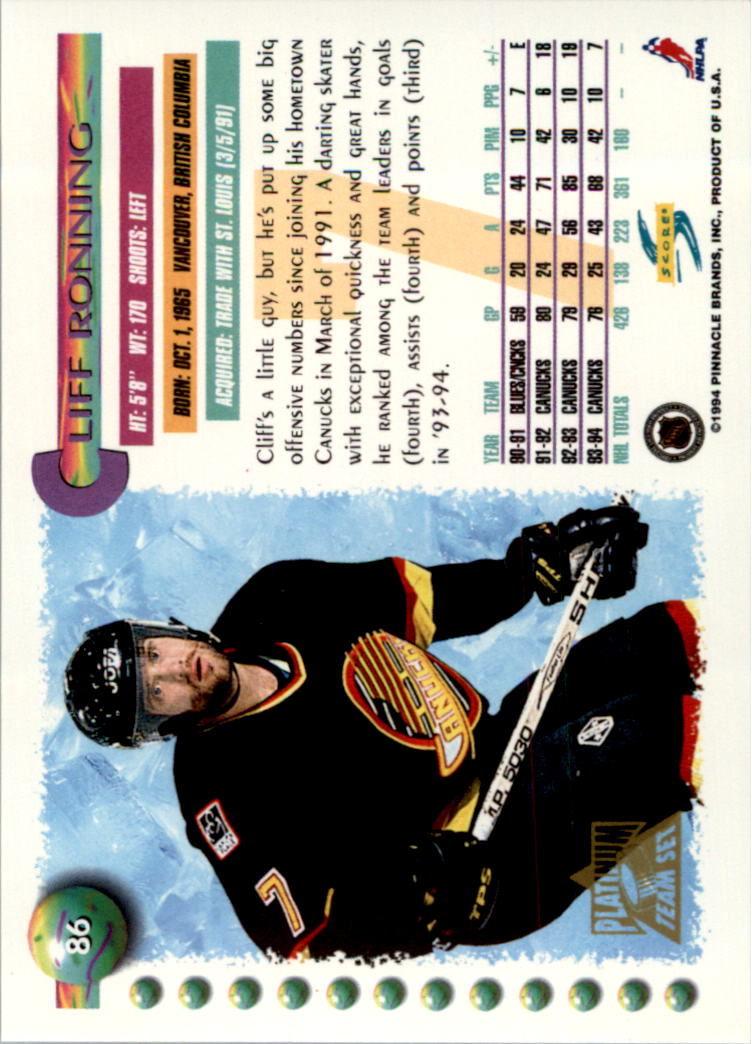 1994-95-Score-Platinum-Hockey-Card-Pick thumbnail 57