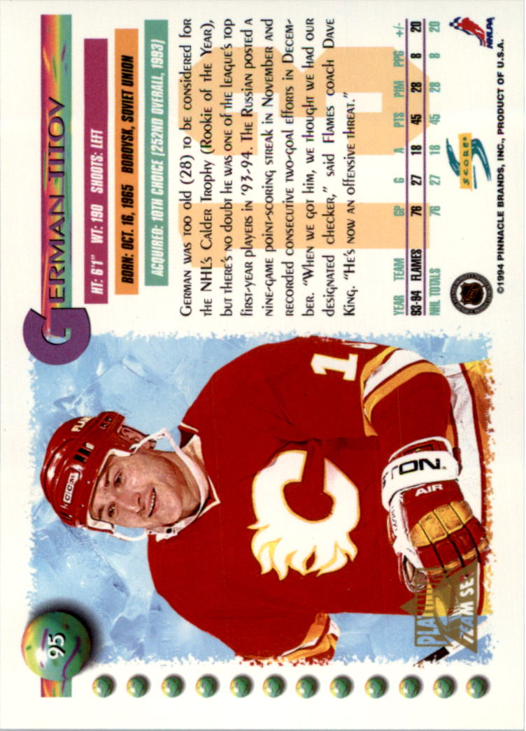 1994-95-Score-Platinum-Hockey-Card-Pick thumbnail 61