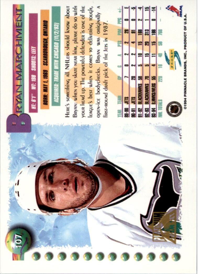 1994-95-Score-Platinum-Hockey-Card-Pick thumbnail 69