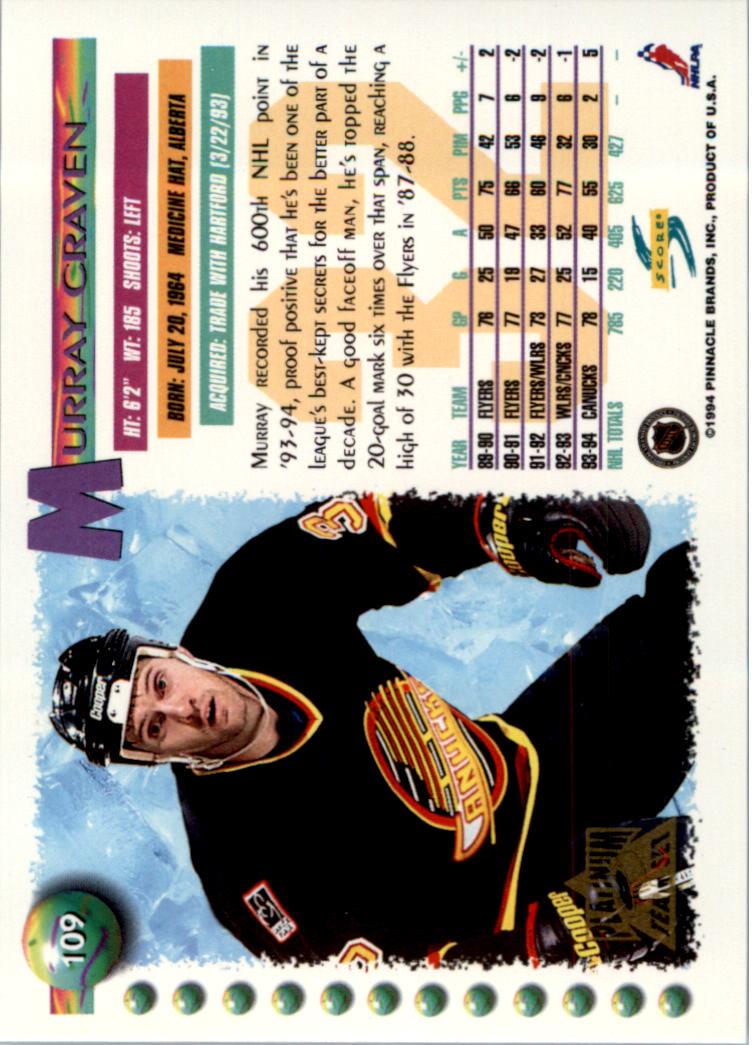 1994-95-Score-Platinum-Hockey-Card-Pick thumbnail 73