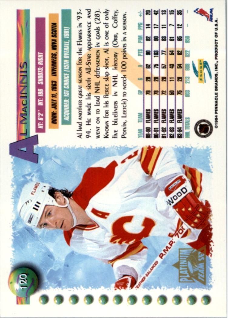 1994-95-Score-Platinum-Hockey-Card-Pick thumbnail 77